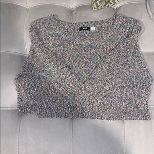 NWOT BDG Crop-Top sweater size Small